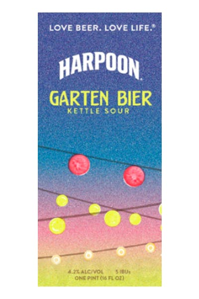 Harpoon Garten Bier Kettle Sour