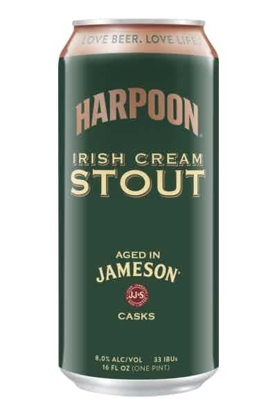 Harpoon Jameson Barrel Aged Irish Cream Stout