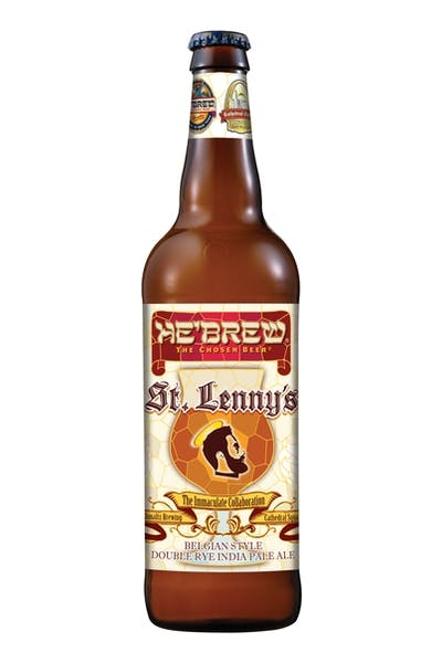 He'Brew St. Lenny's Belgian Style Double IPA