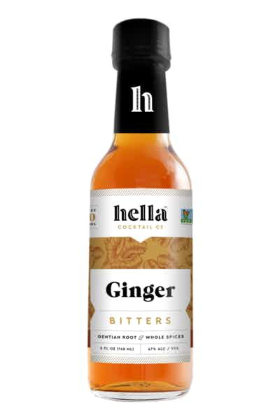 Hella Bitters Ginger Bitters