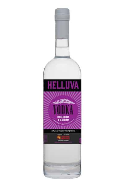 Helluva Huckleberry & Blueberry Vodka