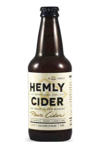 Hemly Original Pear Cider