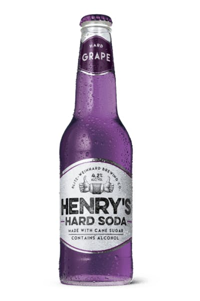 Henry's Hard Grape Soda