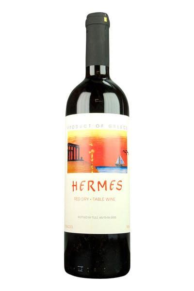 Hermes Greek Red