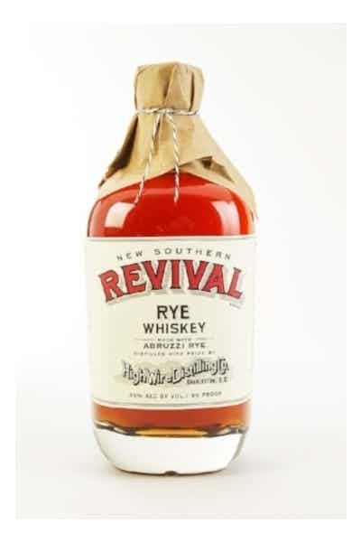 High Wire Distilling Co. New Southern Revival Rye Whiskey