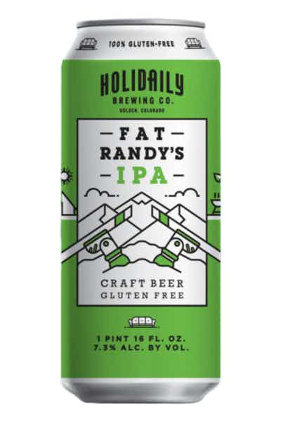 Holidaily Brewing Fat Randy's Gluten Free IPA