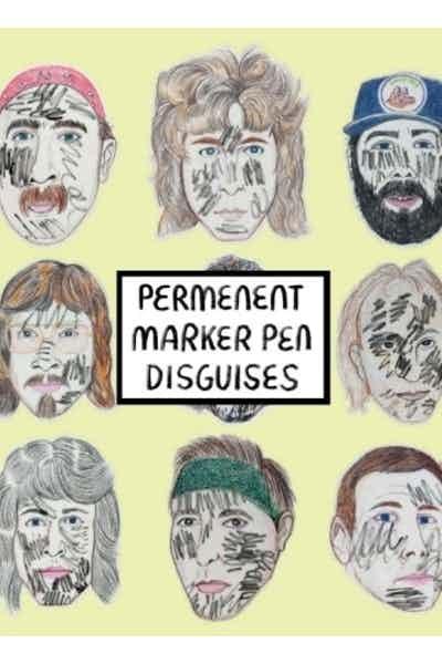 Hoof Hearted Permanent Marker Pen Disguises IPA
