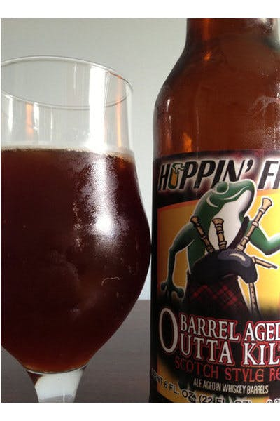 Hoppin' Frog Barrel Aged Outta Kilter Scotch-Style Red Ale