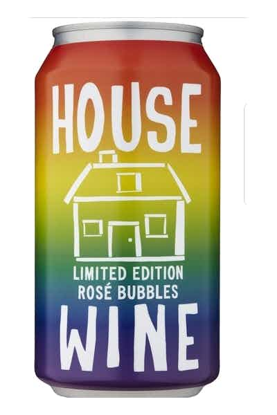 House Wine Limited Edition Rose Bubbles Rainbow Can