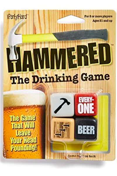 ICUP 694 Hammered Dice Game, Multicolor