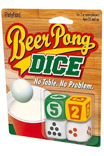 ICUP iPartyHard Beer Pong Dice Adult Drinking Game