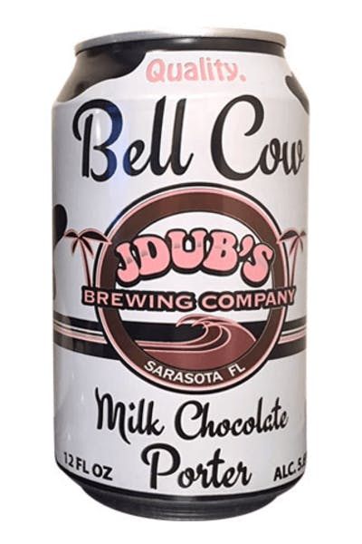 J Dubs Bell Cow Chocolate Porter