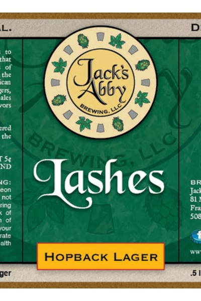 Jack's Abby Lashes 1/6 keg