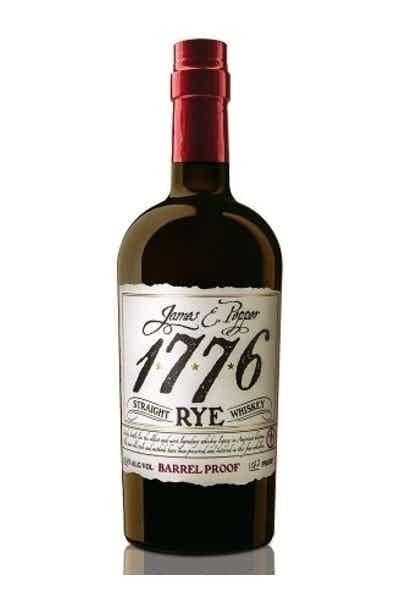 James E. Pepper 1776 Barrel Proof Straight Rye Whiskey