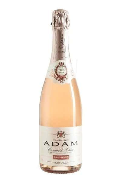 Jean-Baptiste Adam Cremant d'Alsace Brut Rose
