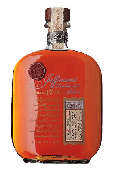 Jefferson's Presidential Select 17/18