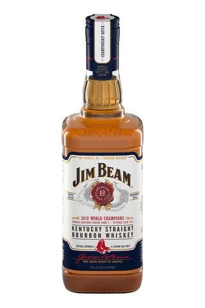 Jim Beam Boston Red Sox Limited Edition Bourbon Whiskey