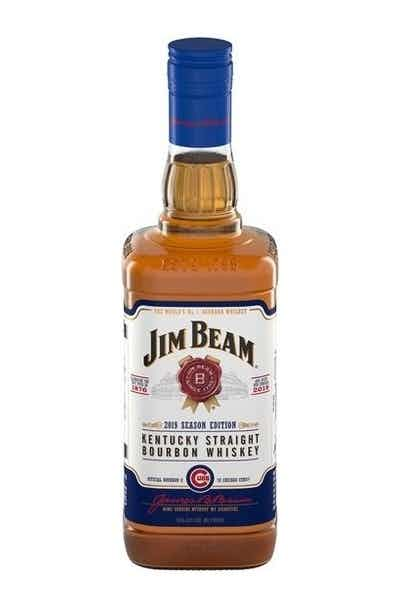 Jim Beam Chicago Cubs Limited Edition Bourbon Whiskey