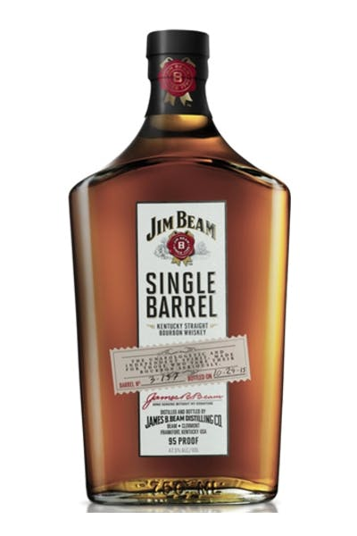 Jim Beam Single Barrel W/2 Rock Gls