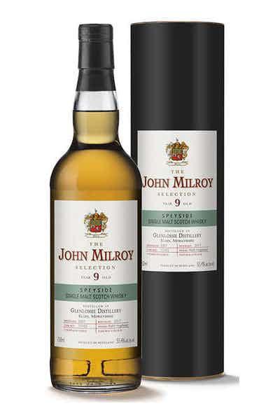 John Milroy Glenlossie Single Malt Scotch 9 Year