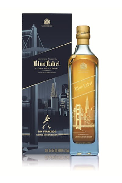 Johnnie Walker Blue Label San Franciso Edition