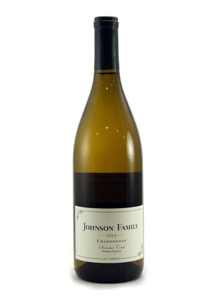 Johnson Family Sonoma County Chardonnay 2014