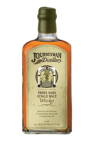 Journeyman Three Oaks Single Malt Whiskey