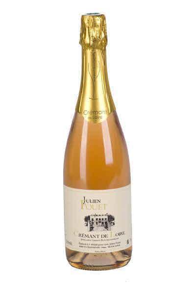 Julien Fouet Cremant De Loire Rose