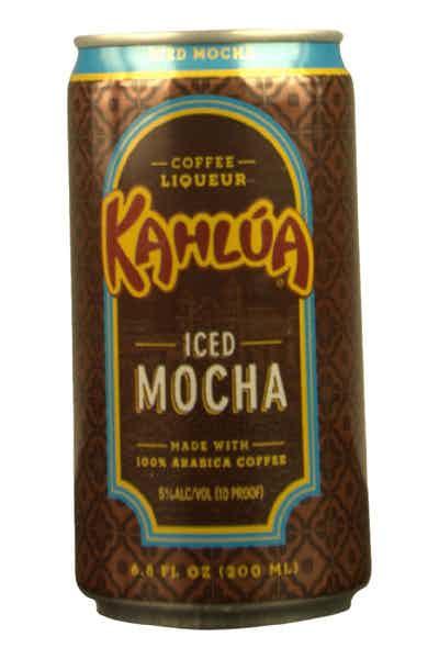 Kahlua Ready To Drink Iced Mocha