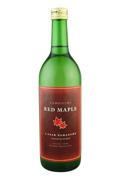 Kamoizumi Red Maple Aged Nama Sake