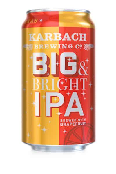 Karbach Brewing Co. Big & Bright IPA