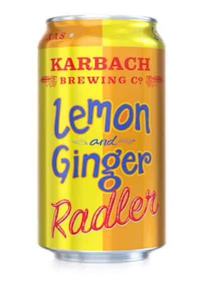 Karbach Brewing Co. Lemon & Ginger Radler