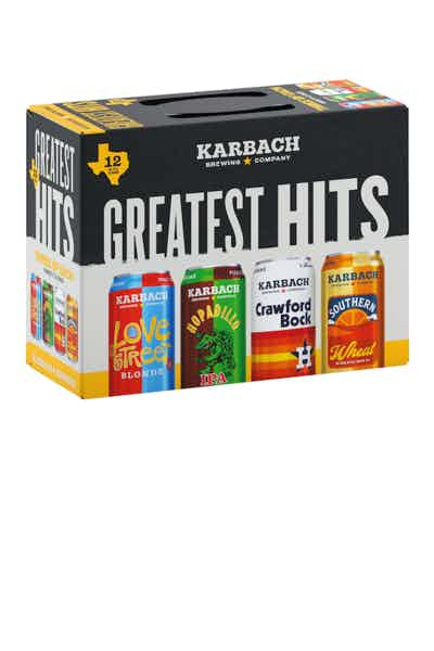 Karbach Brewing Co. Greatest Hits Variety