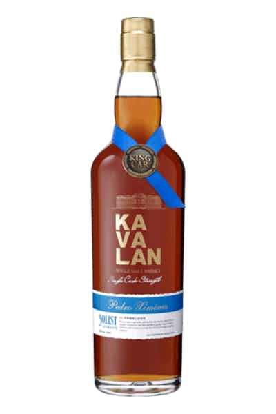 Kavalan Solist Pedro Jimenez Sherry Single Cask Strength Single Malt Whisky