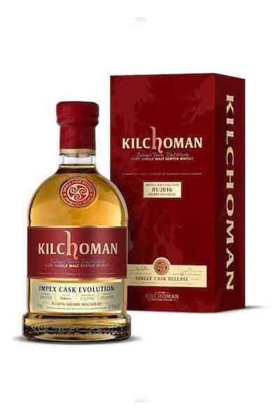 Kilchoman Impex Cask Evolution Scotch Whisky