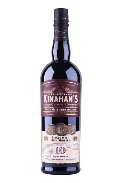 Kinahans Single Malt Whiskey 10 Year