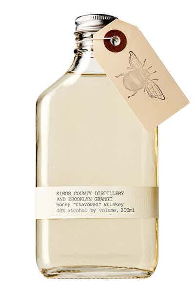 "Kings County Distillery & Brooklyn Grange Honey ""Flavored"" Whiskey"