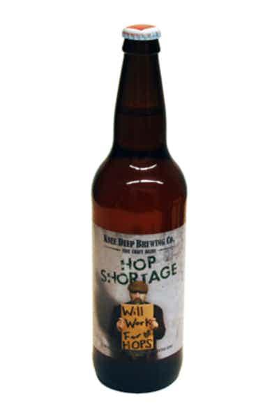 Knee Deep Hop Shortage