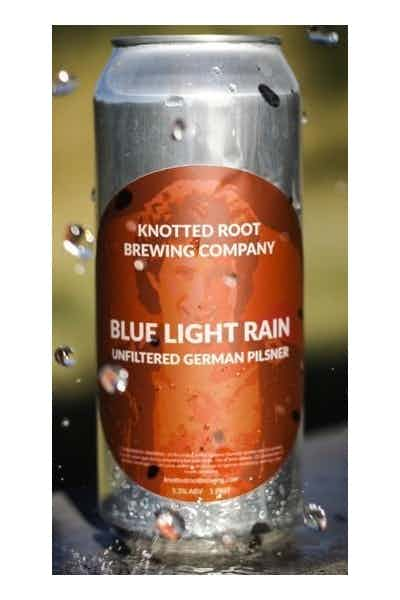 Knotted Root Blue Light Rain