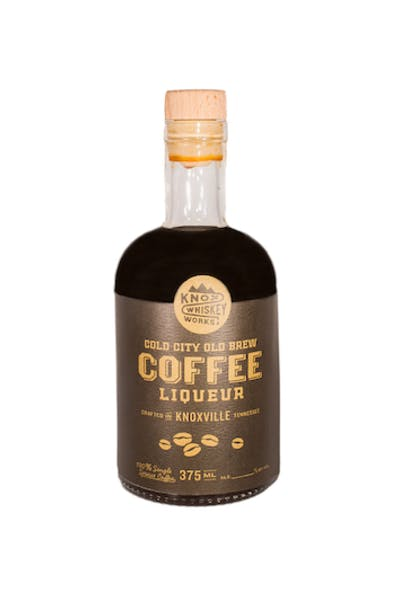 Knox Whiskey Works Cold City Old Brew Coffee Liqueur