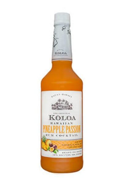 Koloa Pineapple Passion Rum Cocktail