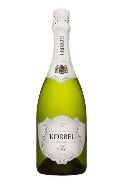 Korbel Sec California Champagne
