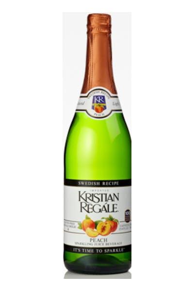 Kristian Regale Peach Cider .