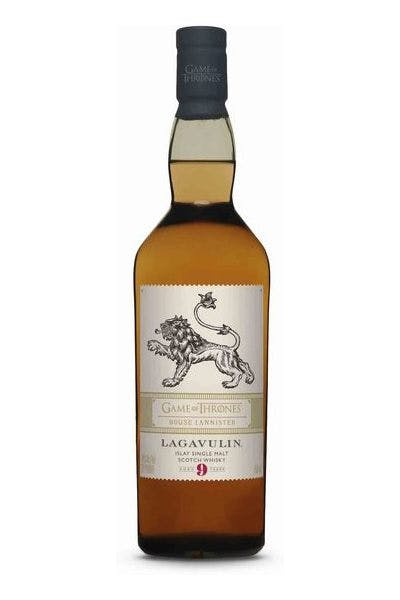 Lagavulin Game of Thrones House Lannister 9 Year Old Islay Single Malt Scotch Whisky