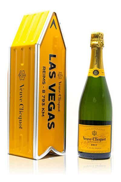 Las Vegas Veuve Brut Yellow Label