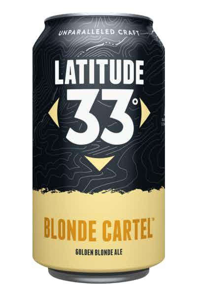 Latitude 33 Blonde Cartel Golden Ale