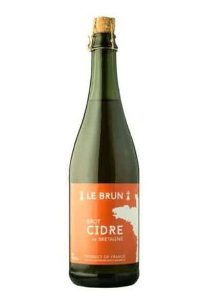Le Brun Cidre Brut Cidre de Bretagne