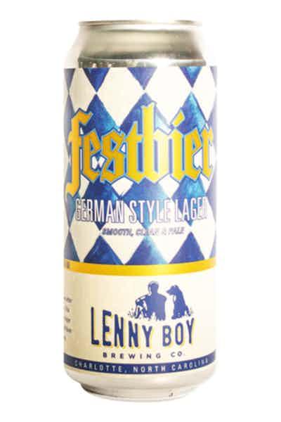 Lenny Boy Brewing Festbier German Lager