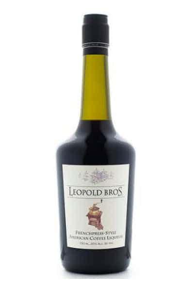 Leopold Bros Frenchpress-Style Coffee Liqueur