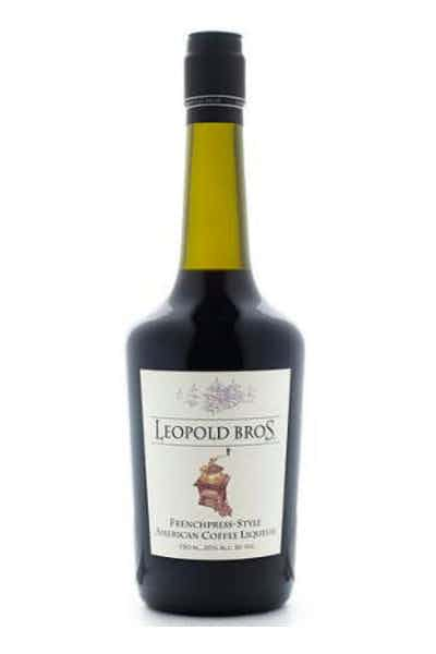 Leopold Bros Frenchpress-Style Coffee Liqueur